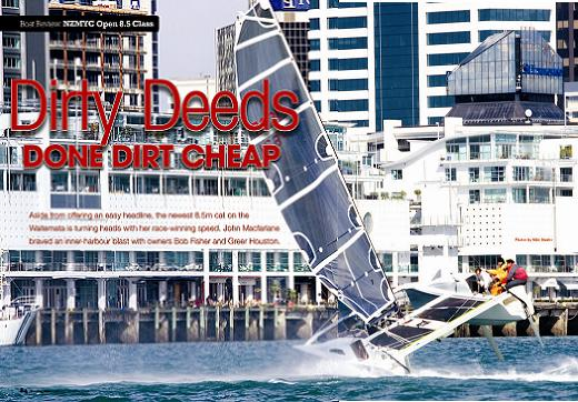 Dirty Deeds Open 8.5 Catamaran